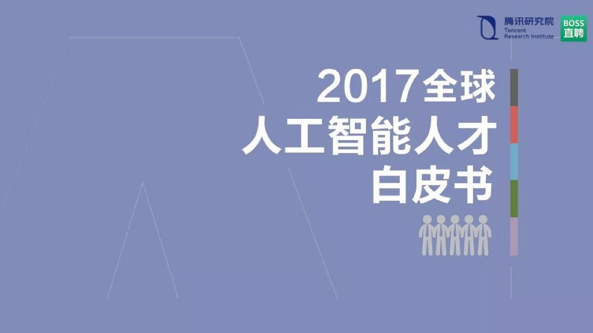 2017全球人工智能人才白皮书:解读世界顶级AI牛人的秘密!-金融微周刊