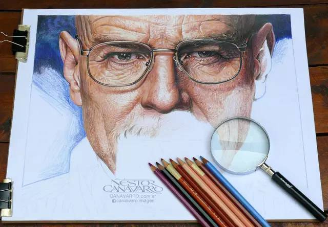 他花50个小时画出这么一幅画就像照片一样,看完都惊了!-金融微周刊